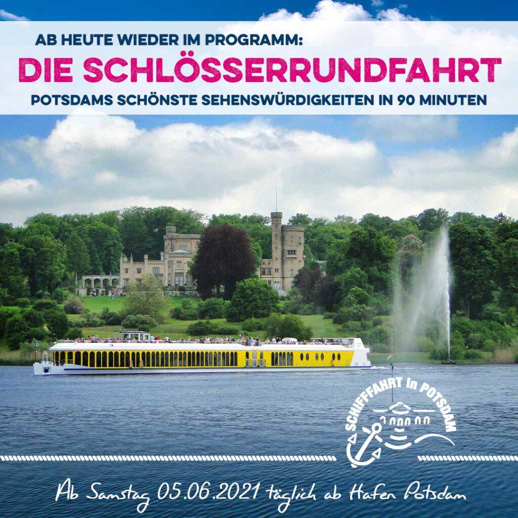 WEISSE FLOTTE Potsdam - Ausflugsfahrten