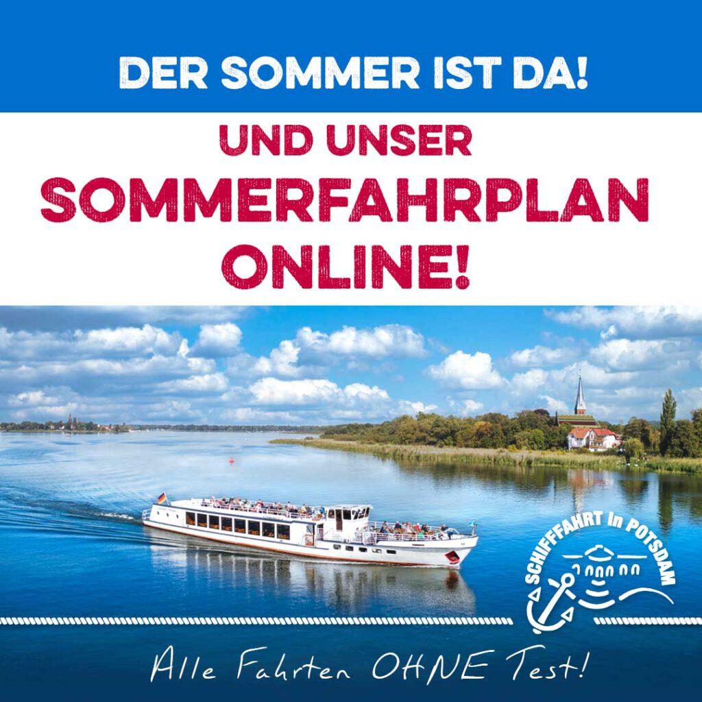 WEISSE FLOTTE Potsdam Sommerfahrplan 2021