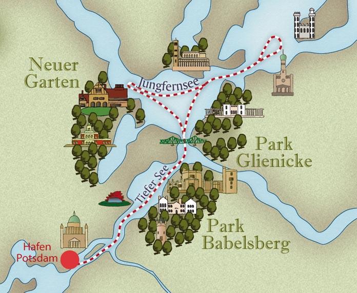 Karte Schloesserrundfahrt