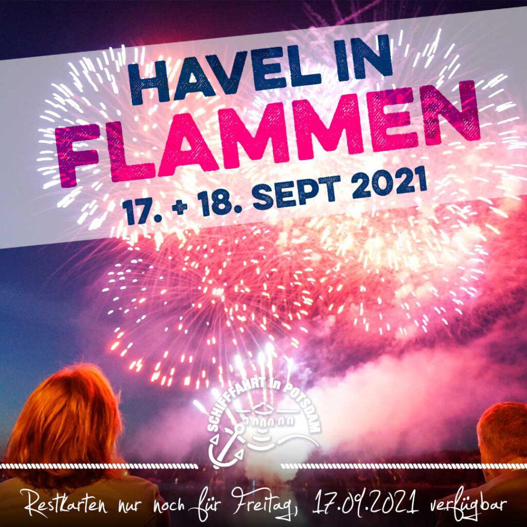 Havel in Flammen -Der große Schiffsreigen unterm Feuerwerk